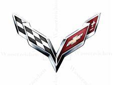 10cm!AUFKLEBER-STICKER-DECAL Corvette-2014 AD104 UV&Waschanlagenfest Auto Tuning