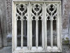 French Style Architectural Gothic Church Quality Stone Window Arch Wall Hanging