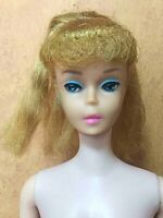 Barbie Blonde Ponytail Vintage Doll Figure Made in Japan