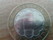 £2 COIN 1999 RUGBY WORLD CUP ~ CIRCULATED