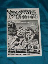 BLAZING WESTERN # 2, AC COMICS, 2000, B & W, 32 pgs, CHEYENNE KID! VERY FINE