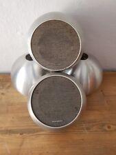 2 Paar Telefunken Kugelboxen Alu Kugel Lautsprecher Boxen