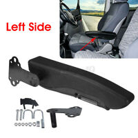 Left Universal Adjustable Car Truck Seat Armrest Arm Console Box w/ Large Brack