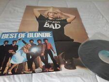 THE BEST OF BLONDIE - LO MEJOR DE BLONDIE, LP VINYL 1978 CHRYSALIS, RCA ESPAÑA -