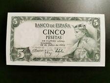 BILLETE DE 5  PESETAS DE ALFONSO  X   EL SABIO    ( S/C )  SERIE  T
