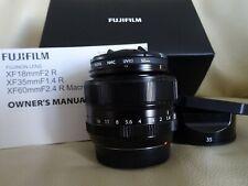 Fuji XF35mm 1.4 Lens in Pristine condition.