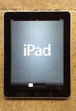 "E18 Apple iPad 1st Generation A1219  16GB 9.7"" Tablet, WIFI - NICE Factory Reset"