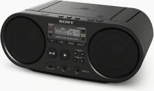 Sony Radio stereo portatile boombox Lettore CD/Mp3 AM/FM USB col Nero ZS-PS50