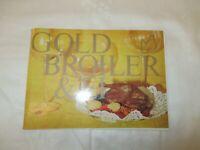 1974 DDR KIM Reklame Ausgabe : GOLDBROILER & Ei :  als Rezeptheft