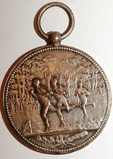 Medaille Union Sportive Hyeroise 1903 signee Desaide