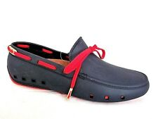 MOCKS LADIES VENETO NAVY RUBBER FLAT MOCCASIN LOAFERS SHOES WOMANS UK 6 - EUR 40