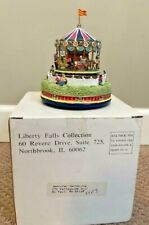 Liberty Falls Merry Go Round Carousel