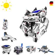 7 in 1 Roboter Konstruktions-Bauset mit Solar, Droide, Baukasten-Set, Baustein