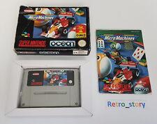 Super Nintendo SNES - Micro Machines - PAL - EUR