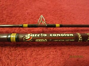 Vintage Garcia Conolon 2510-A 7 Ft Fishing Rod Pole
