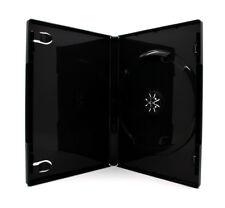 50 x 1 Fach DVD Hüllen für 1 CD / DVD / Blu-Ray Hülle | 14mm | Schwarz