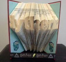 Book Folding PATTERN Measure, Mark and Fold, Harry Potter, Slytherin