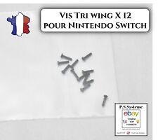 Lot 12 vis Y tri wing de remplacement pour nintendo switch joycon screw triwing
