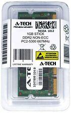 A-Tech 1GB PC2-5300 Laptop SODIMM DDR2 667 MHz 200-Pin Memory RAM 1x 1G 5300S