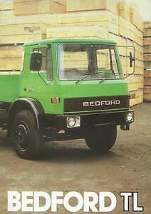 Bedford TL Brochure 1981 20 Pages In Mint Condition 5.4/100D 3.6/65D 3.5/80P