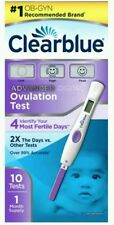 Clearblue Advanced Digital Ovulation Test, 10 count each  Box issues