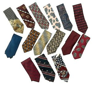 Neckties Vtg to Now Lot of 15 Tommy Hilfiger Beau Brummell DKNY Christian Dior +