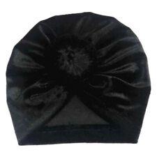 3fc474ae7 Bebé Infante Niños Turbante Pañuelo de Cabeza Sombreros Terciopelo Elástico