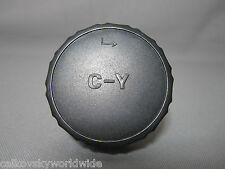 New Yashica Camera Rear Lens Cap Caps Cover For Contax Yashica CY C Y mount lens