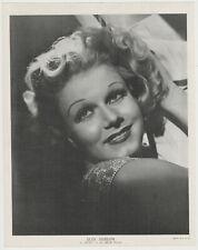 Jean Harlow 1936 R95 8x10 Linen Textured Printed Photo - Vintage Premium