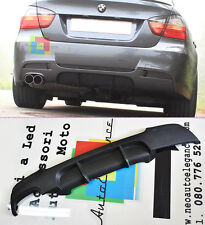 DIFFUSORE POSTERIORE SOTTO PARAURTI PER BMW SERIE 3 E90 E91 2004-2012