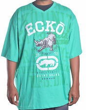 Ecko Unltd. Men's Big & Tall Emerald Green Tee Shirt 4X 4XL 4XB