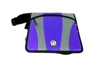 Case It Dual 301 Binder Two Sets Of 2 Inch D Shaped 3 Rings Strap Pouch Purple