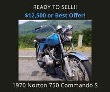 1970 Norton Commando 750 S