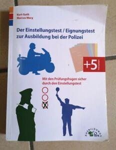 Der Einstellungstest/Eignungstest zur Ausbildung bei der Polizei