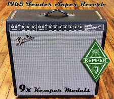 Kemper Profiles - Fender Super Reverb Amp Profile - KEMPER - emailed to you