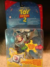 Toy Story 2 Buzz Lightyear Cyberhook Action Fgure in Package
