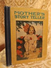 1918 Mother's Story Teller for Young People Children's Stories Antique Book