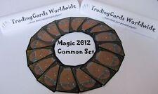 Magic 2012 m12 complete Common Set // 101 | 101 // NM // Engl.