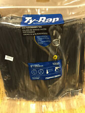 "TY232MX TY-RAP THOMAS & BETTS Cable Tie 18lb 8"" UV Black Nylon 1000 per bag"
