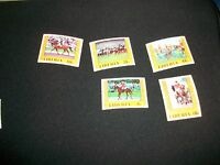 1976 Montreal Olympics Games Stamps Liberia