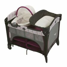 New and Sealed! Graco Pack 'N Play Playard with Newborn Napperstation DLX, Nyssa