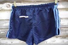 ADIDAS Sprinter Shorts customized D6 Shorts blau 80s Nylon Shiny True Vintage