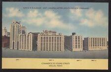 Postcard DALLAS Texas/TX  8th Army Supply Command Buildings view 1930's?