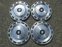 Genuine 1978 to 1981 Buick Century 14 inch hubcaps wheel covers set