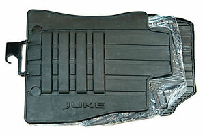 Nissan 2010-2014/NEW 2014 Juke Rubber Genuine Car Floor Mats - KE7581K089 RHD