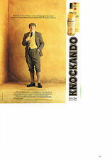 PUBLICITE ADVERTISING  1991   KNOCKANDO  SCOTCH WHISKY