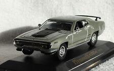 Plymouth GTX grau 1971 1:43 Yat Ming Modellauto / Die-cast