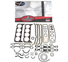 Full Engine Gasket Set for Early 2 Piece Rear Seal Chevrolet SBC 283 327 350 5.7