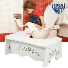 "7"" Toilet Squatty Step Stool Bathroom Potty Squat For Proper Toilet Posture"