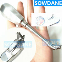 Dental Crown Spreader Drill Root Elevator Cross Broken Crown Remover Stainless
